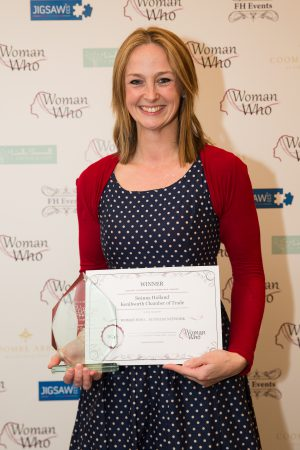 Congratulations to Seanna Holland, Kenilworth Chamber of Trade, Woman Who…Business Network Winner 2016