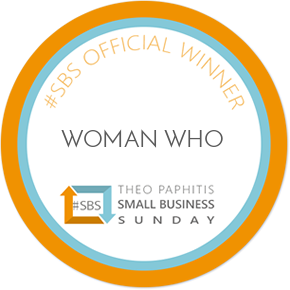 Delighted to be a Theo Paphitis #SBS Winner