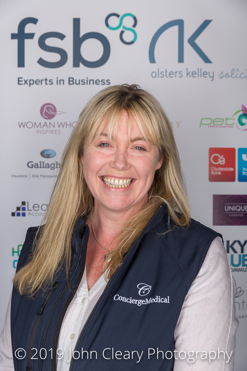 Congratulations Kat Carrick, Concierge Medical, Finalist in the Woman Who Achieves Scale Up Category Sponsored Clydesdale & Yorkshire Bank