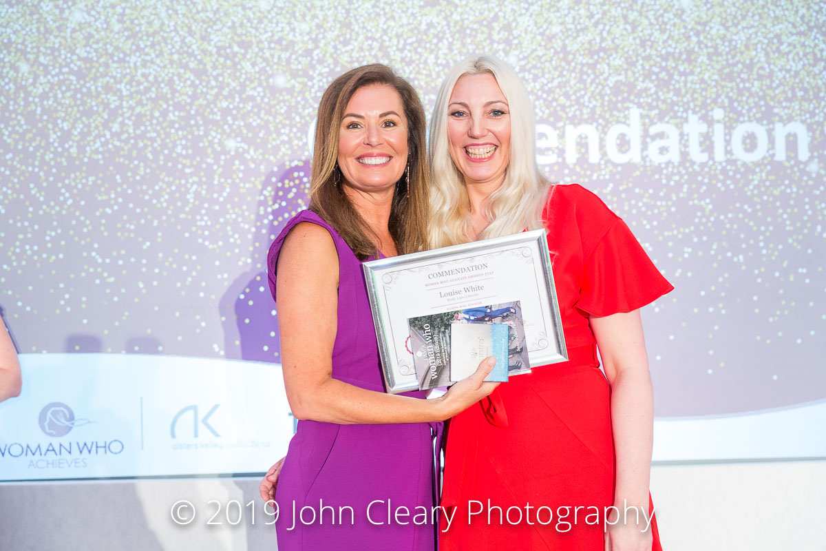 Congratulations Louise White, Body Lipo Lincoln on your Commendation in the Woman Who Achieves in STEM Category Sponsored by Aesthetics Event Staff