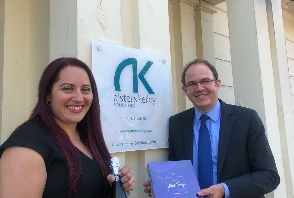 Congratulations to Corrine Seabourne of Alsters Kelley Solicitors… Celebrating 15 years service