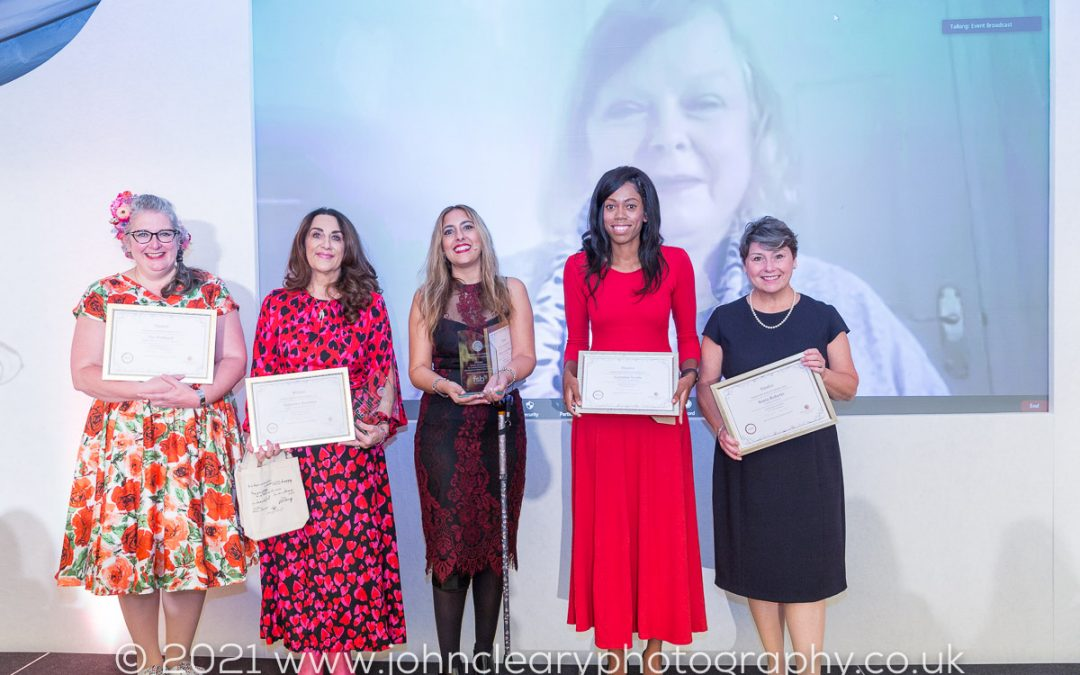 Congratulations to Sharon Luca-Chatha, Joint Winner of the Woman Who Achieves for a Charity or Social Enterprise 2021